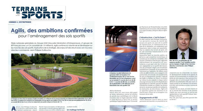 article presse sports