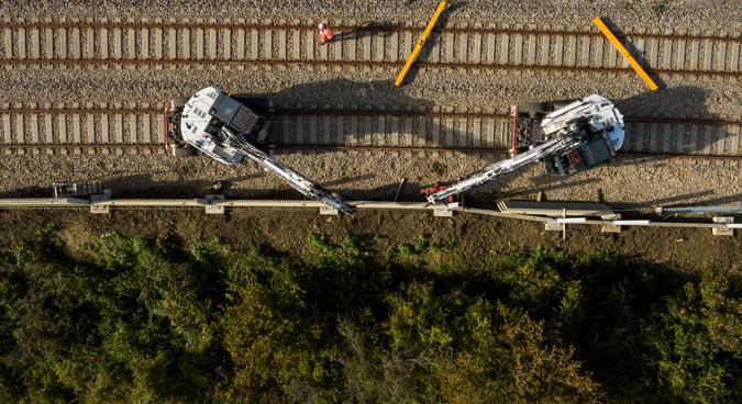 ligne ferroviaire gisors serqueux pose écrans acoustiques